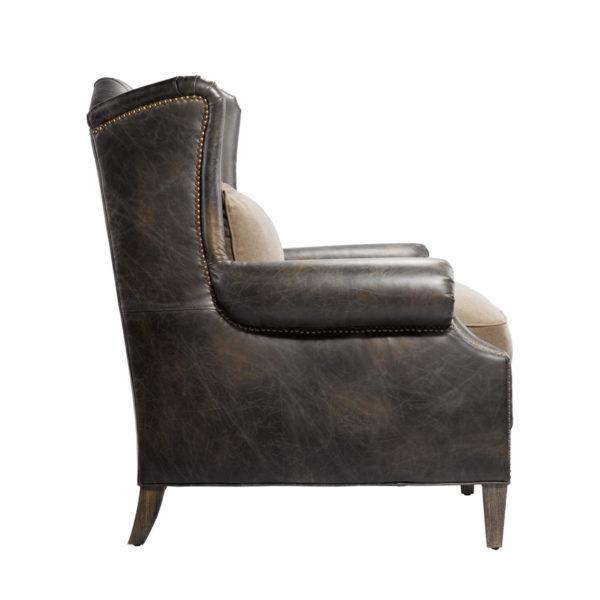 Кожаное кресло LAURAN ARMCHAIR-1567