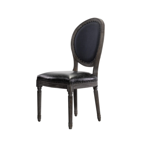 Стул VINTAGE LOUIS INDIGO SIDE CHAIR-1670
