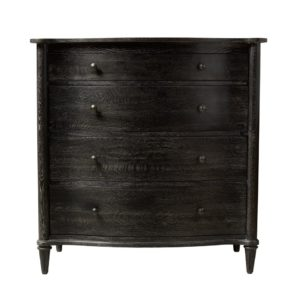 Комод BAXLEY CHEST ANTIQUE BLACK OF DRAWERS-0