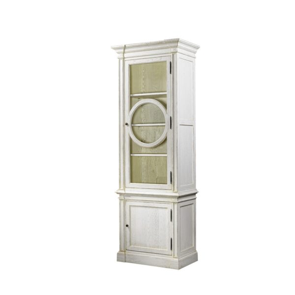 Шкаф French O-Style Vintage White Cabinet-2310