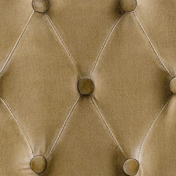 Стул Vintage Louis Round Vintage White Button Side Chair -2200