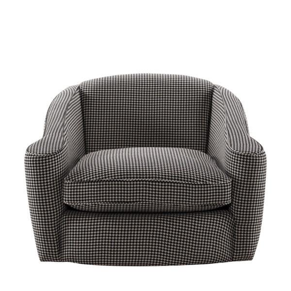 Кресло Bell Swivel Arm Chair-2566