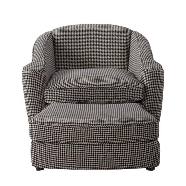 Кресло Bell Swivel Arm Chair-2567