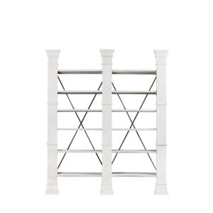 Книжная полка X-CROSS WHITE DOUBLE BOOKSHELF-0