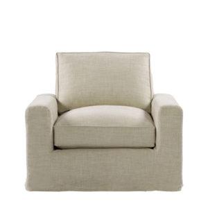 Кресло MONS UPHOLSTERED ARMCHAIR-0