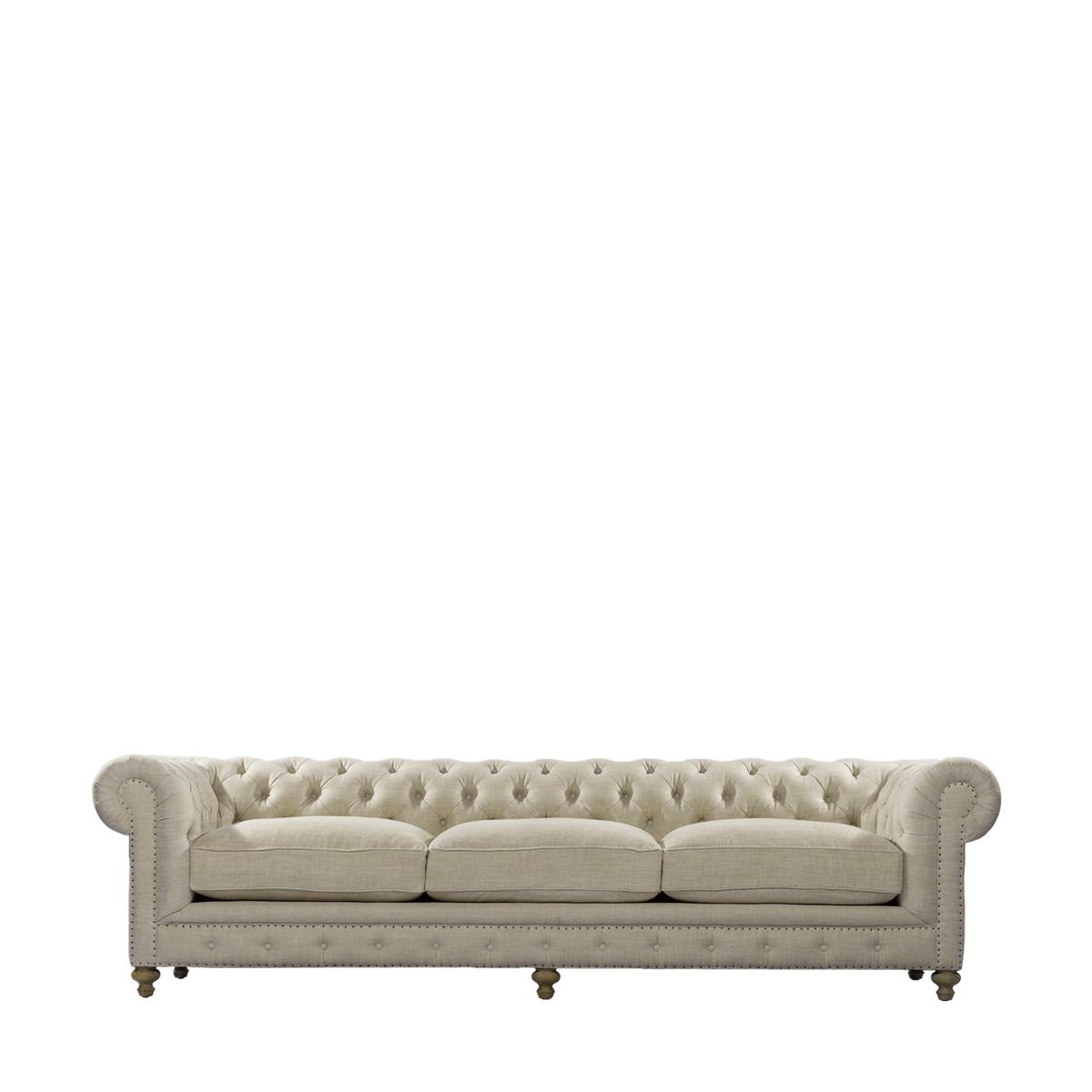 """Классический диван 118"""" CIGAR CLUB SOFA-0"""