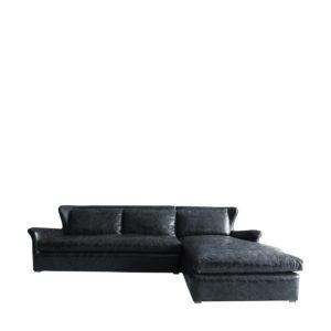 Изысканный диван WINSLOW LEATHER & WOOL SECTIONAL-0