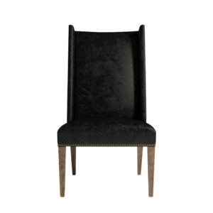 Стул BERTRIX LEATHER CHAIR-0