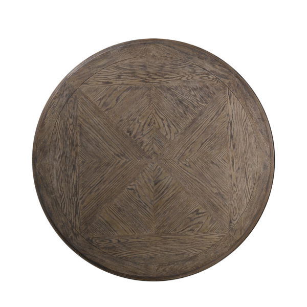 """Стол 63"""" FRENCH ROUND TABLE-1682"""
