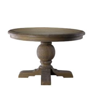 """Стол 48"""" ROUND TRESTLE TABLE-0"""