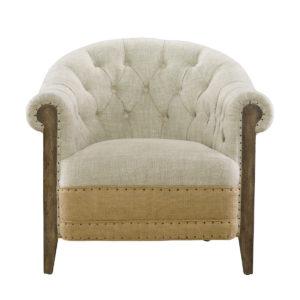 Стильное кресло Deconstructed Chambery Back Armchair-0