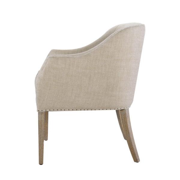 Интерьерное кресло Ralf Linen Chair-1571
