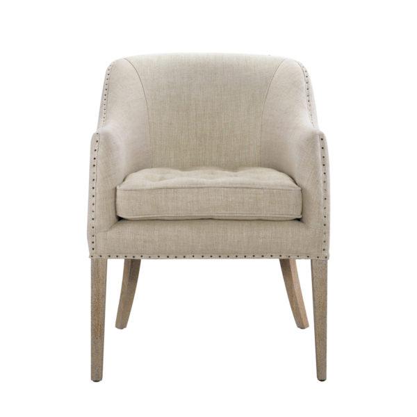 Интерьерное кресло Ralf Linen Chair-0