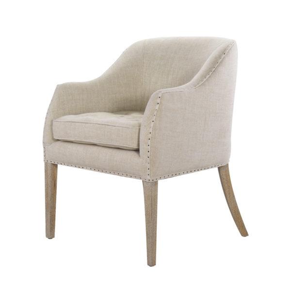 Интерьерное кресло Ralf Linen Chair-1569