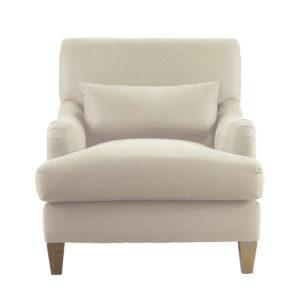 Кресло кремовое Huntington Arm Chair-0