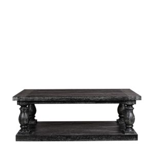 Винтажный стол Chelsea Vintage Black Coffee Table-0