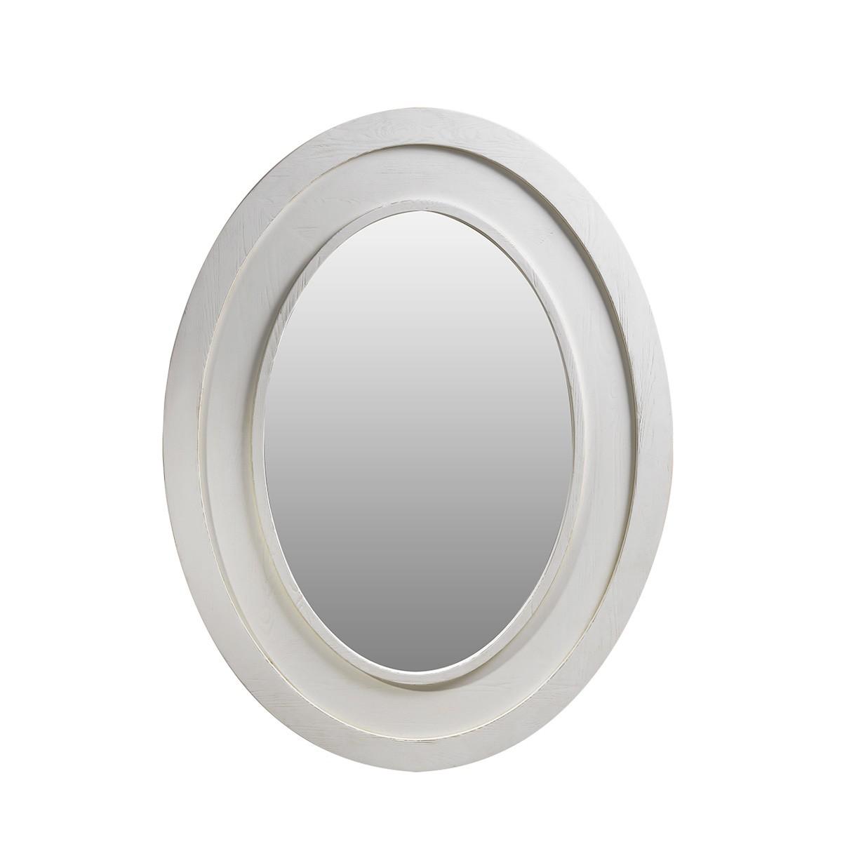 Зеркало Olmetta Vintage White Mirror-0