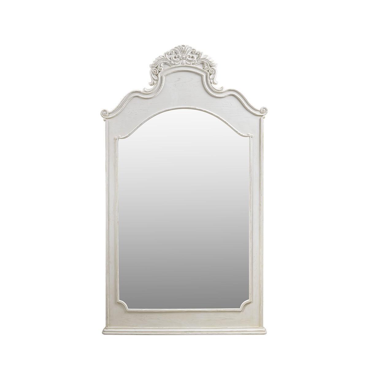 Винтажное зеркало Istres Vintage White Mirror-0