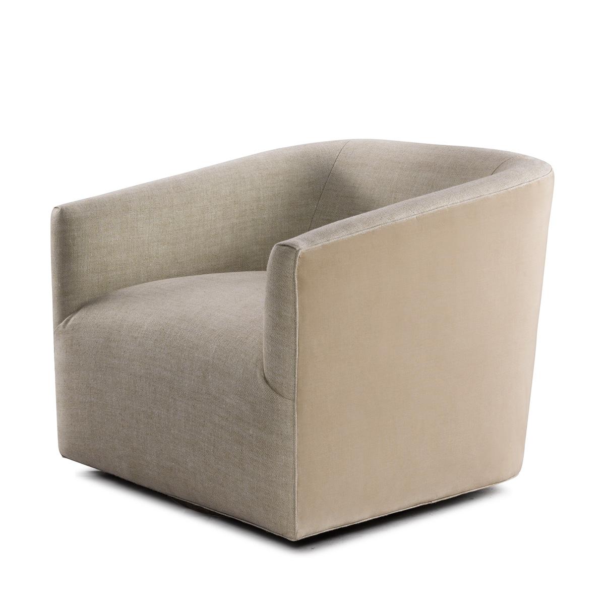 Кресло Sete Swivel Arm Chair-0