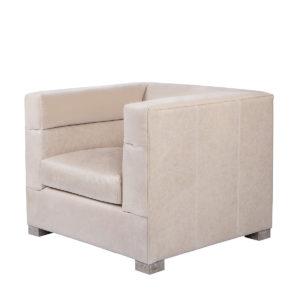 Кресло MODENA LEATHER ARM CHAIR-0