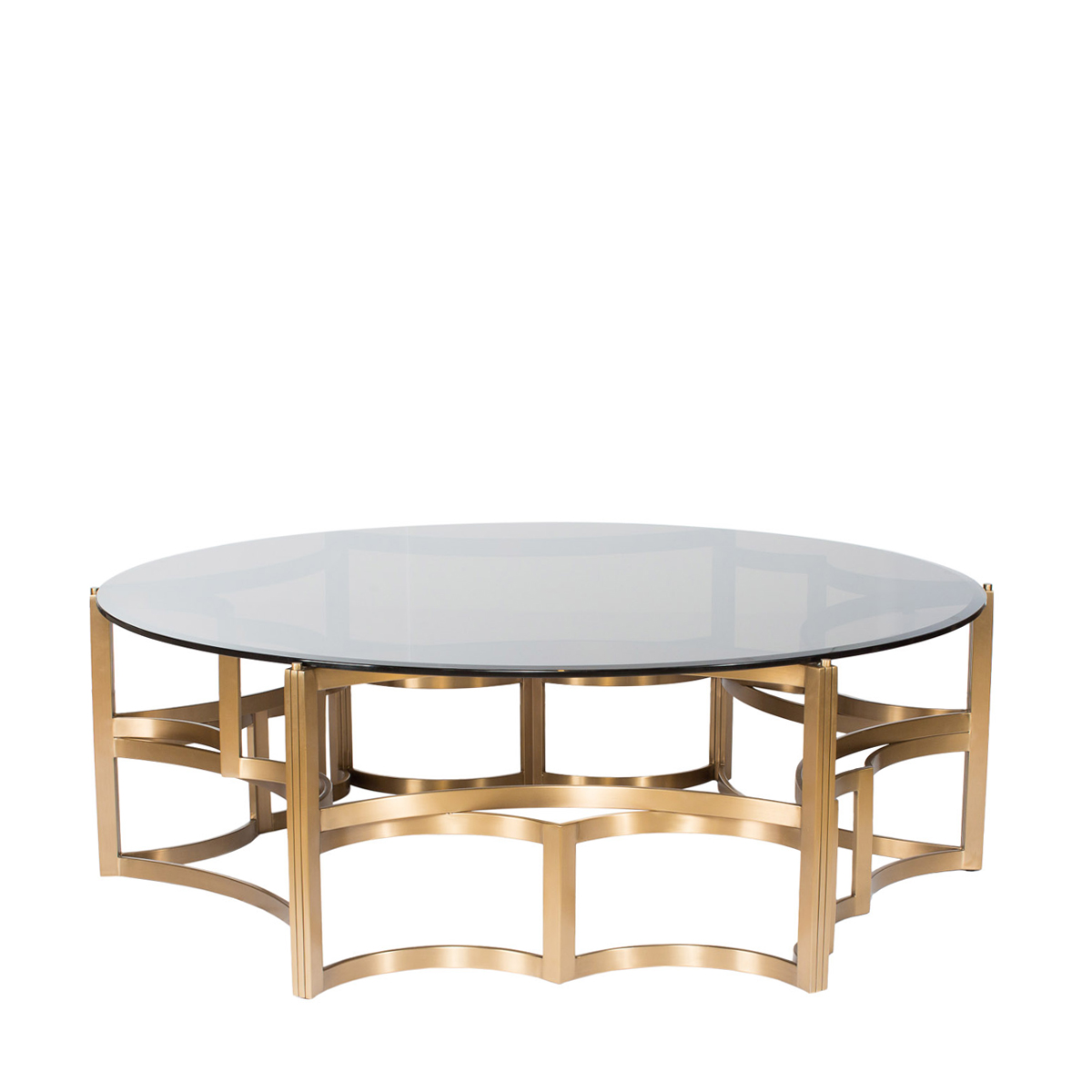 Кофейный столик Gold Coffe Table-0