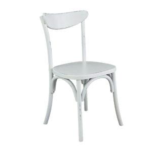 Белый деревянный стул Москва